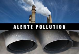 Alerte pollution de l'air pour le 22 02 19
