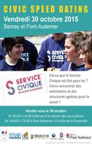 """Civic speed dating"" - Vendredi 30 octobre 2015 à Bernay et Pont-Audemer"