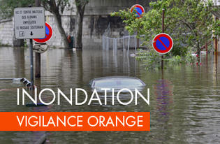 L'Eure maintenue en vigilance orange inondations