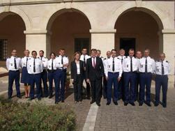 René Bidal, Préfet De Lu0027Eure, Rend Visite Au Groupement De Gendarmerie De