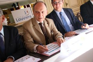 Signature de la convention « Action cœur de ville » de Louviers
