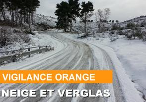 Vigilance orange neige / verglas