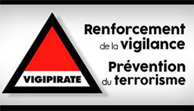 Plan Vigipirate - Menace terrorriste