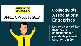PREVENTION SECURITE ROUTIERE - Appel à projet 2018