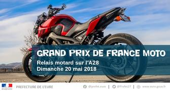 Relais motard – Grand prix de France moto